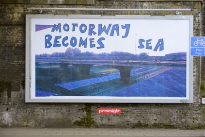 Lucy Joyce, When Motorway Becomes Sea