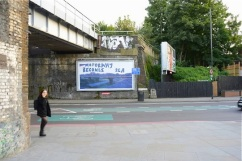 Lucy Joyce, When Motorway Becomes Sea. Commissioned by The Ballad of Peckham Rye